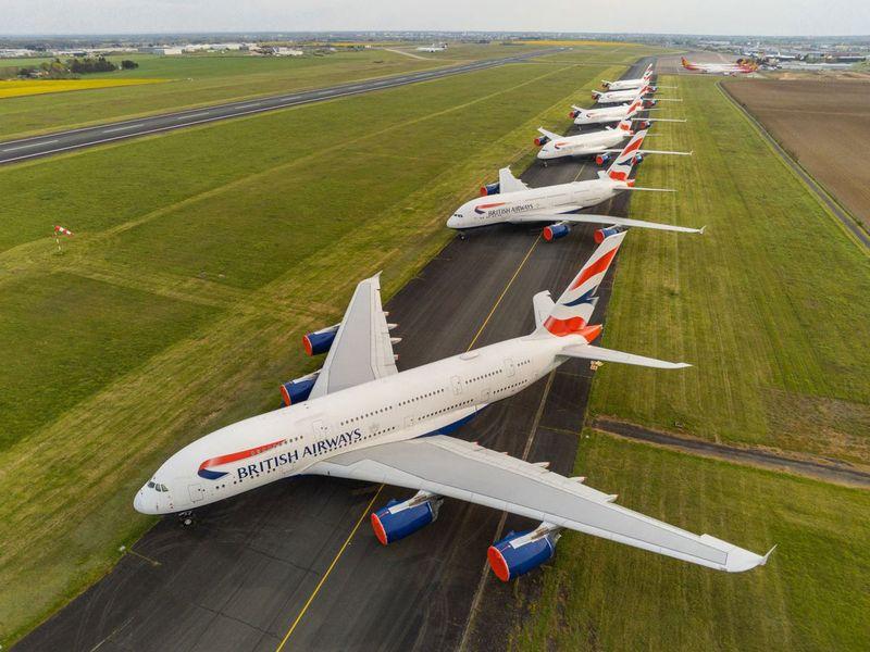 Stock - Airline (British Airways)