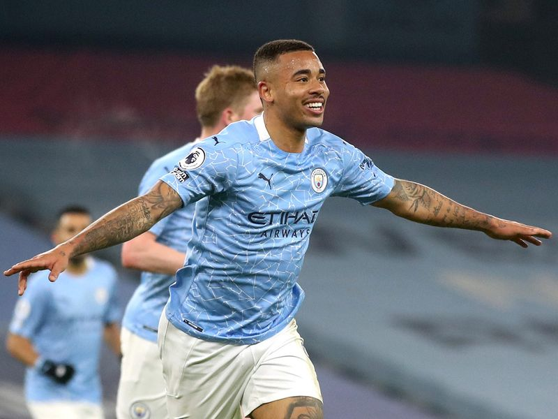 Premier League: Man City equal unbeaten record in 4-1 Wolves victory