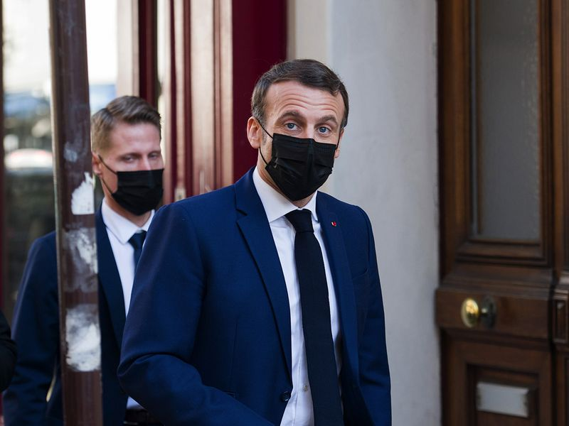 Macron asks Iran for 'clear gestures' on nuclear inspections