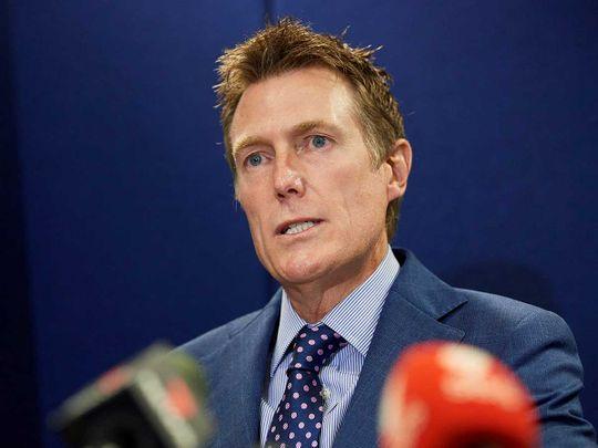 Australia's attorney general Christian Porter