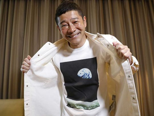 Want to fly to the Moon for free? Japan billionaire offers space seats |  Asia – Gulf News