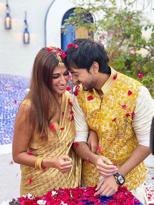 Priyank Sharma and Shaza Morani