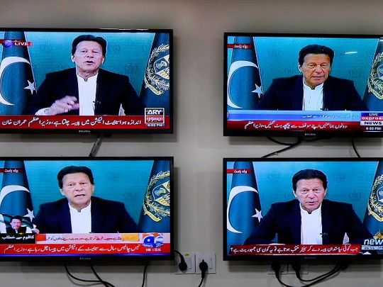Imran Khan address to the nation Pakistan