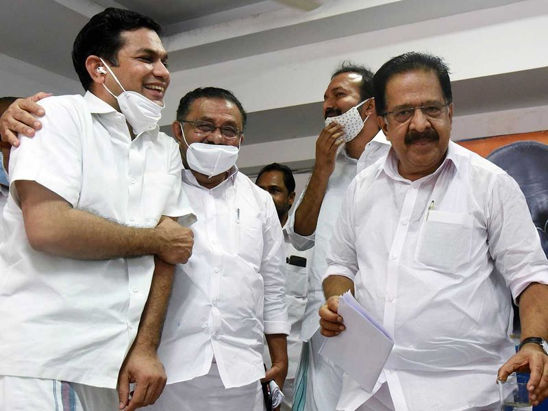 Leader of the Opposition Ramesh Chennithala  and M.M Hasan