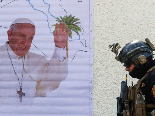 Pope Iraq security