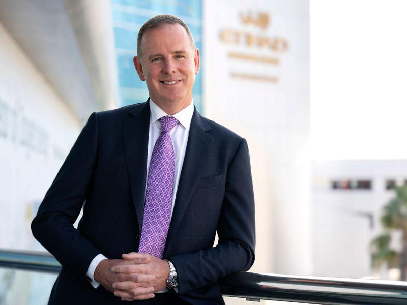 Tony Douglas, Etihad CEO