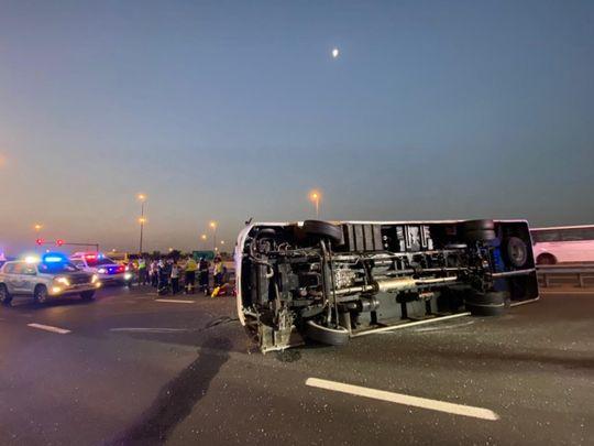 accident Dubai