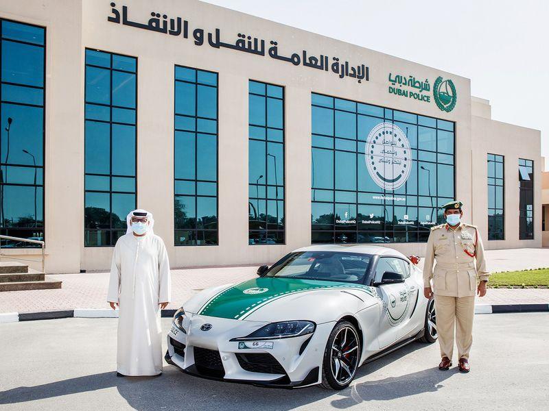 2021 Toyota Supra joins Dubai Police fleet