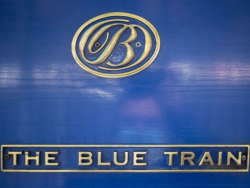 Blue train gallery