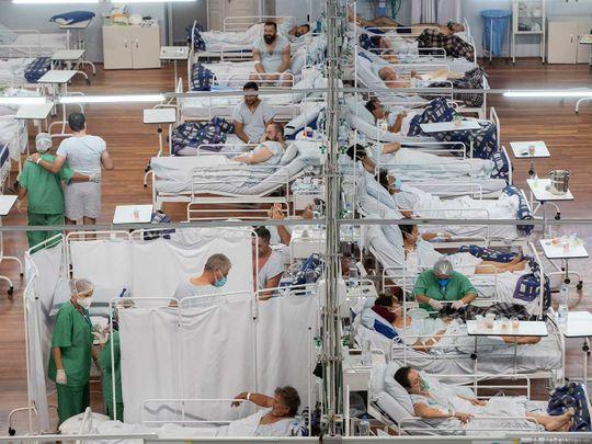 Brazil hospital COVID