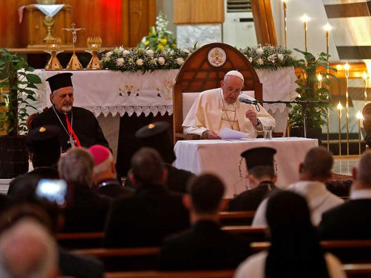 Pope Francis Syro-Catholic Cathedral of Our Lady of Salvation (Sayidat Al Najat) Iraq