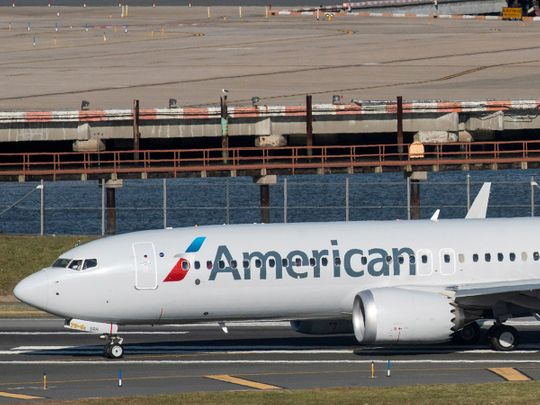 American Airlines flight 718, the first U.S. Boeing 737 MAX
