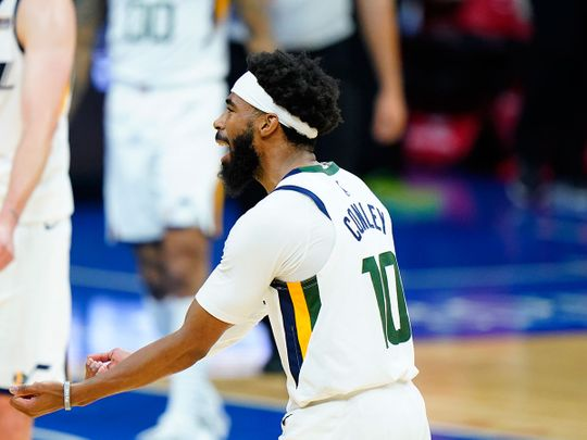 Utah Jazz guard Mike Conley