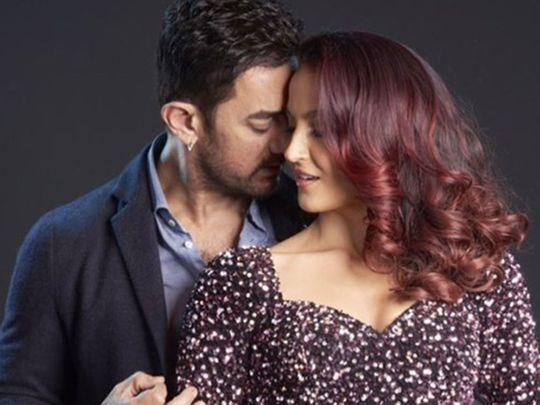 Aamir Khan and Elli AvRam