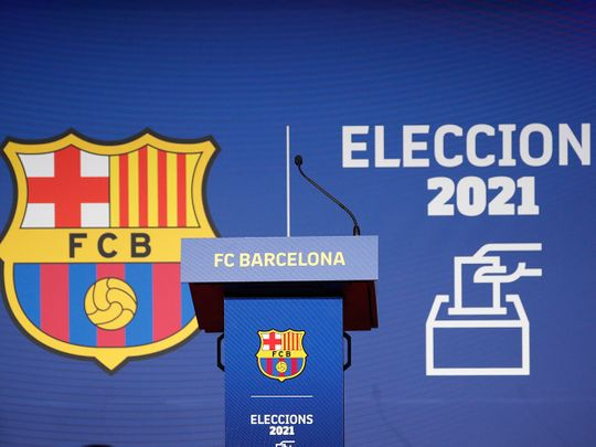 Barcelona elect a new club President at Camp Nou