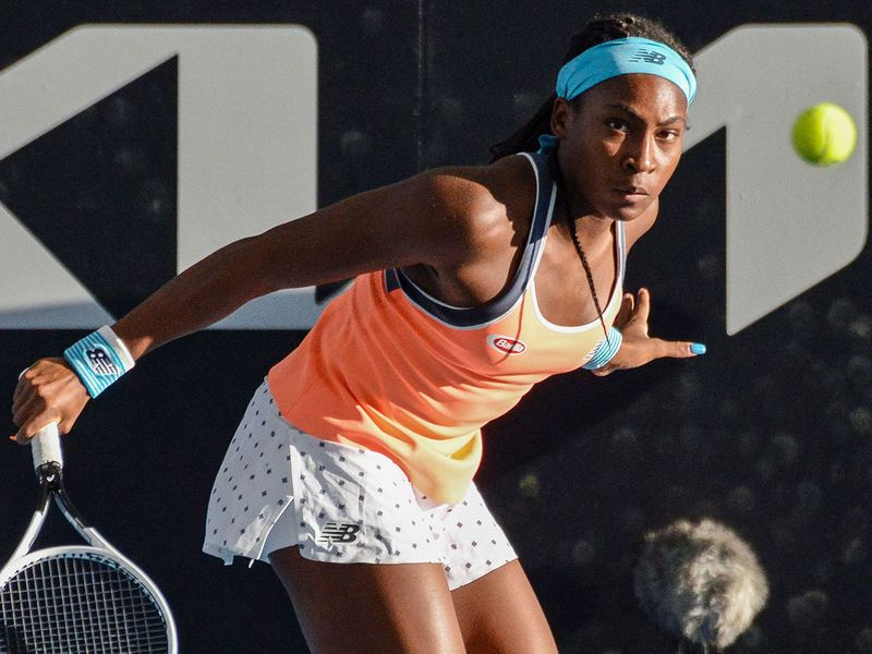 Dubai Duty Free Tennis Championships: Coco Gauff through as Ons Jabeur eases through