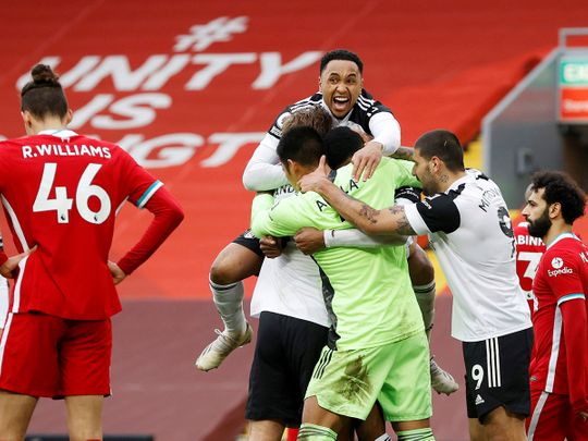 Liverpool crashed to another defeat against lowly Fulham