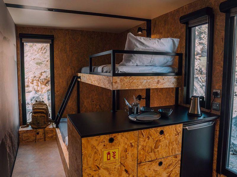 RAK Jebel Jais Bear Grylls Cabin
