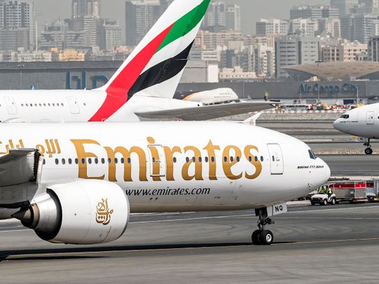 STOCK emirates airlines