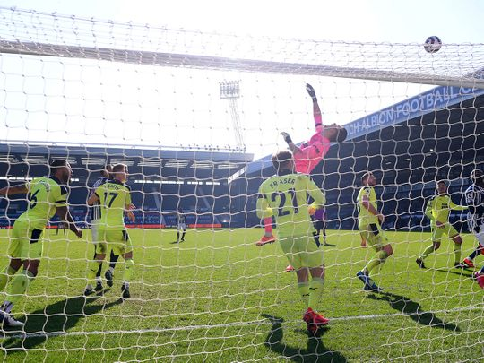 West Bromwich Albion are denied against Newcastle
