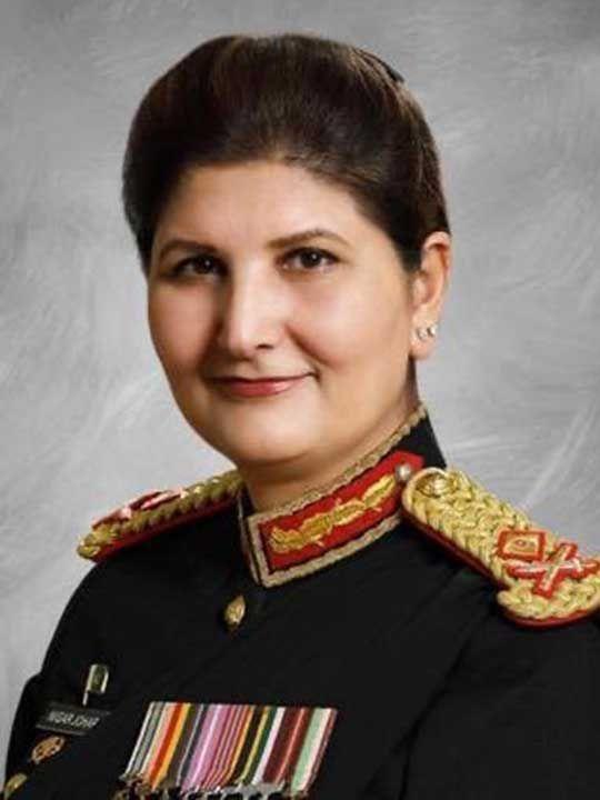 Lieutenant General Nigar Johar