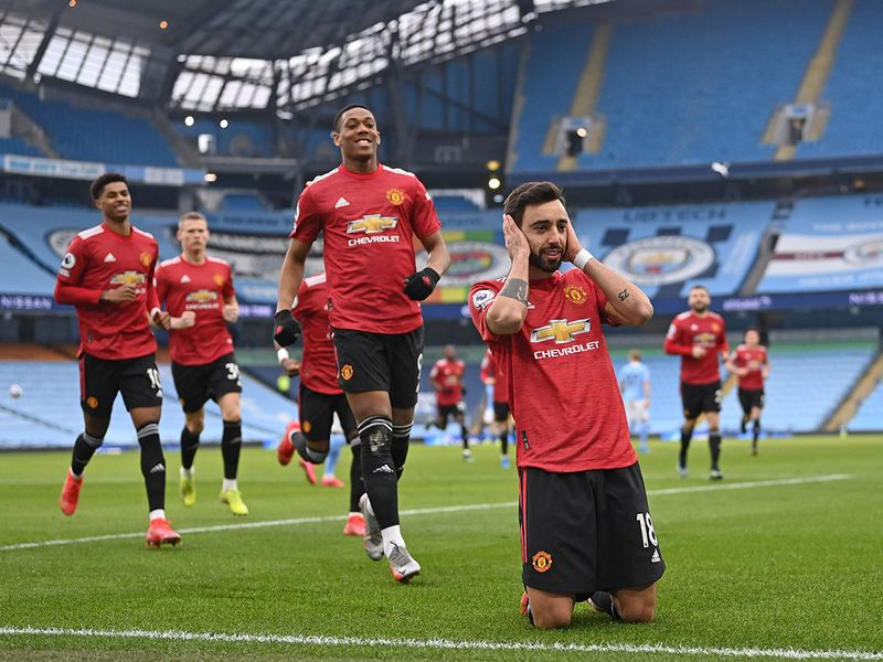 Premier League: Man United stun City to end 21-match winning run
