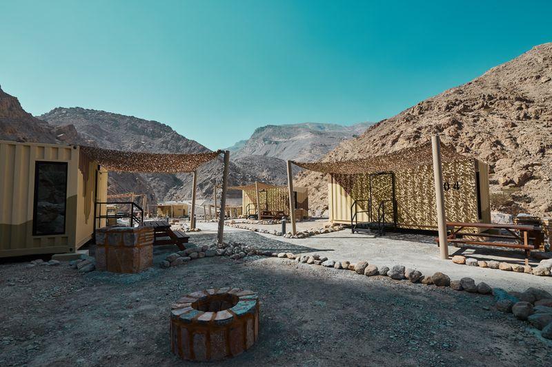 Bear Grylls Cabin camp RAK