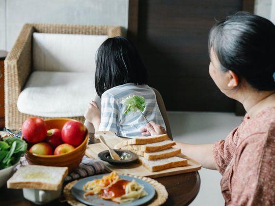 Children not eating