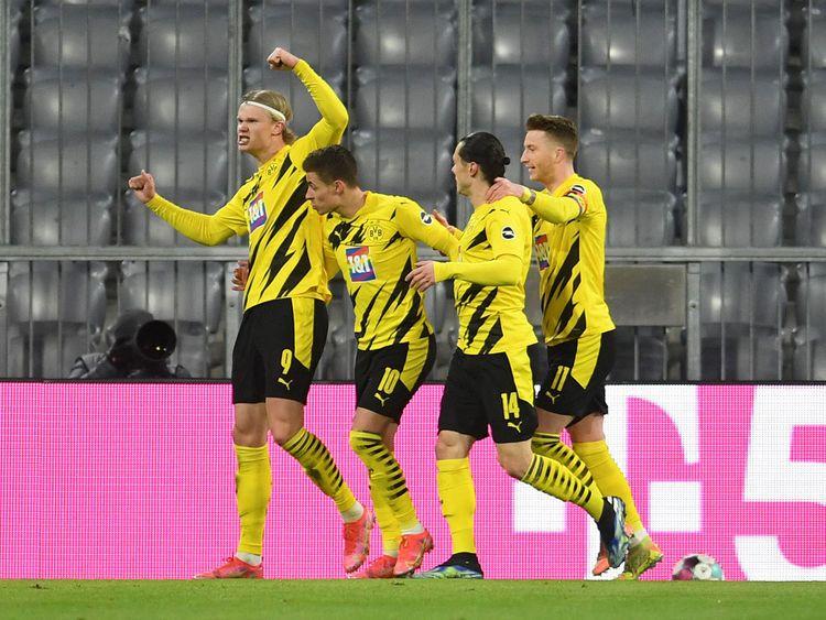 Dortmund's Erling Braut Haaland