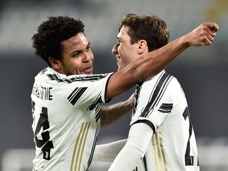 Juventus' Weston McKennie