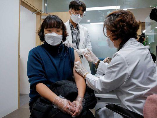 Korea vaccine AstraZeneca covid