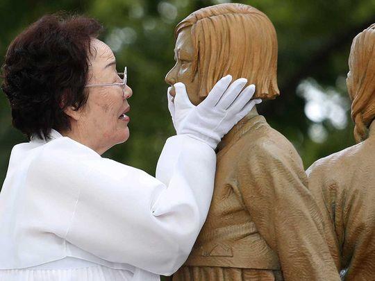 Lee Yong-so Japan Korea 'comfort women'