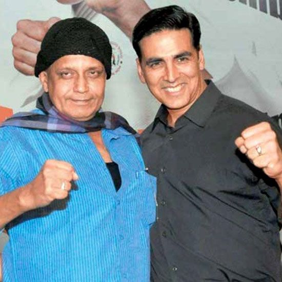 Mithun Chakraborty and Akshay Kumar
