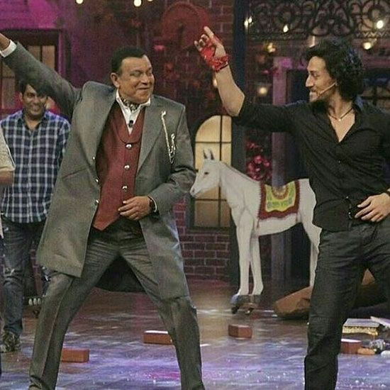 Mithun Chakraborty and Tiger Shroff