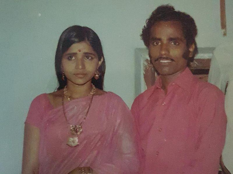 Noorankulangara Revi and wife Girija