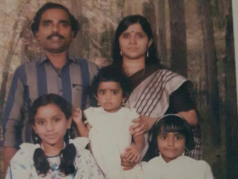 The Revis: NA Revi, wife Girija and daughters Ragi, Smitha and Bhindu