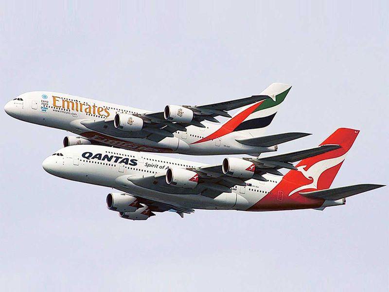 20210309 Emirates and Qantas