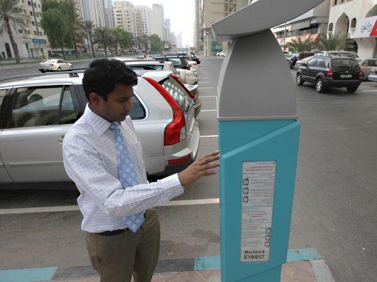 Abu Dhabi parking