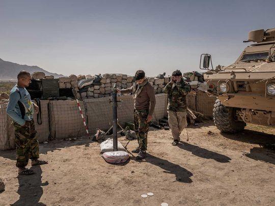 Afghan Army commandos Taliban