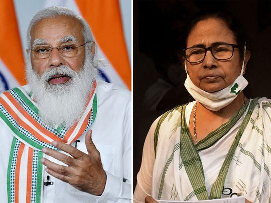 Narendra Modi-Mamata Banerjee