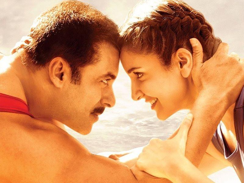 Salman Khan and Anushka Sharma in 'Sultan'.