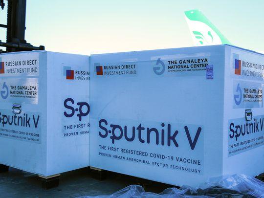 Sputnik V coronavirus vaccine