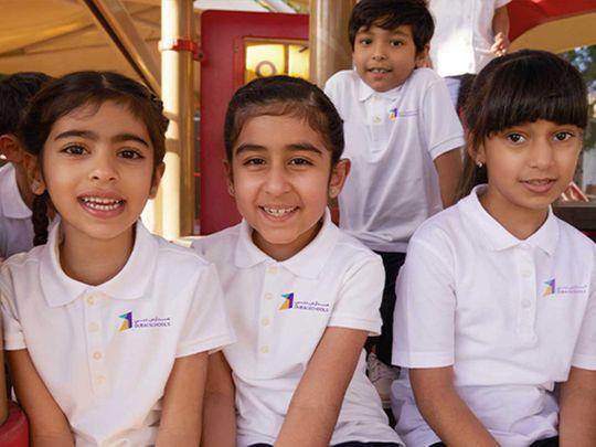 Students of Dubai Schools Project