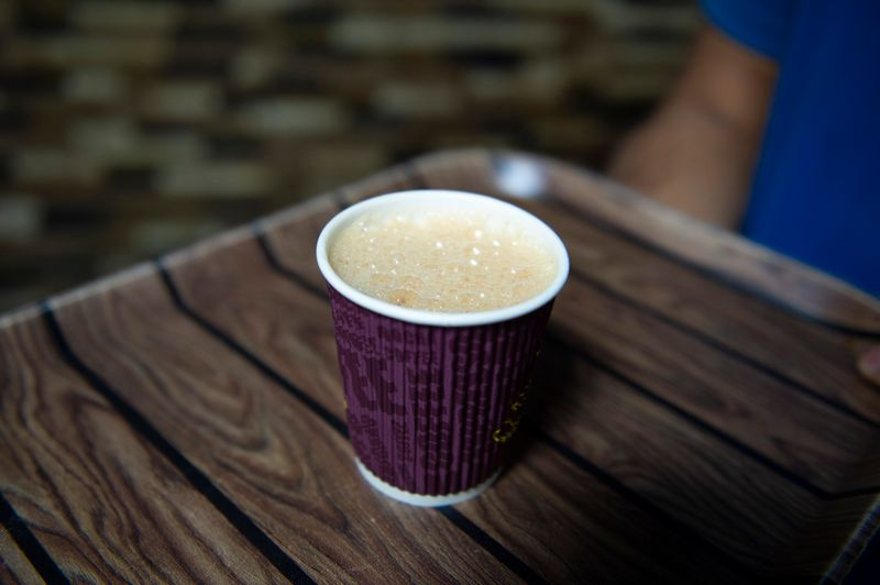The famous #814 coffee from Control Restaurant is a hit among many Emiratis.