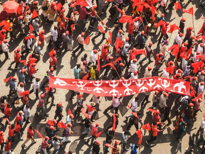 WB elections - Left Front Rally