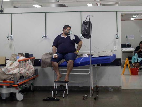 Brazil covid patients