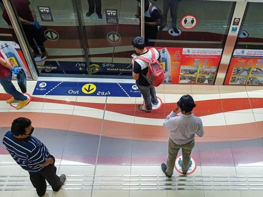 Dubai Metro fines