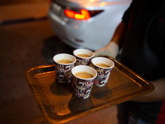 Have you ever tried the Dh1 karak chai from this restaurant on Jumeirah street?