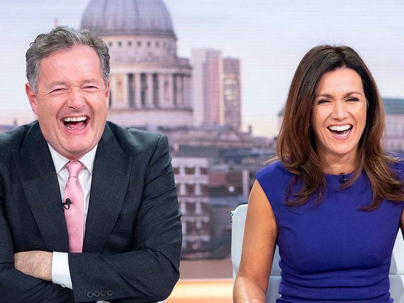 Piers Morgan's 'Good Morning Britain' Co-Host Susanna Reid