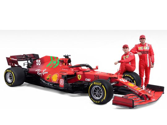 The SF21: Ferrari's Formula One car for 2021